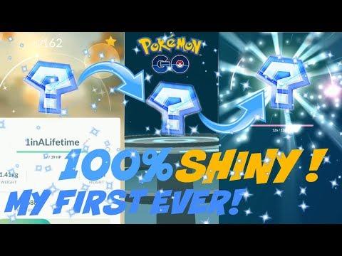 Download Youtube: SO RARE !!! *100%* SHINY* POKEMON* EVOLUTION* POWER UP IN POKEMON GO.