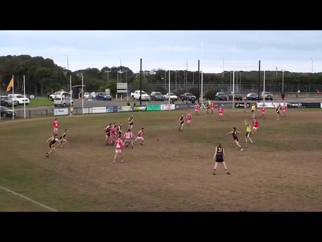 Rd 15 Torquay vs Ocean Grove Throw Ins