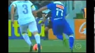 Golaço de Éverton Ribeiro   Santos 0 x 1 Cruzeiro Brasileirão 2013