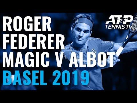 Roger Federer Masterclass vs Albot | Basel 2019