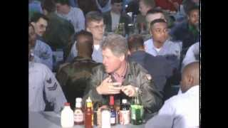President Clinton Tours the USS Theodore Roosevelt (1993)