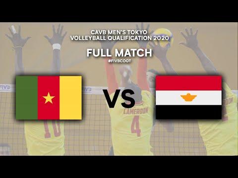 Download CMR vs. EGY - Full Match | CAVB Men's Tokyo Volleyball Qualification 2020
