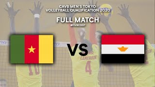 LIVE  CMR - EGY | CAVB Men's Tokyo Volleyball Qualification 2020