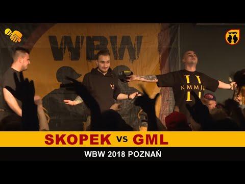 bitwa GML vs SKOPEK # WBW 2018 Poznań (1/8) # freestyle battle