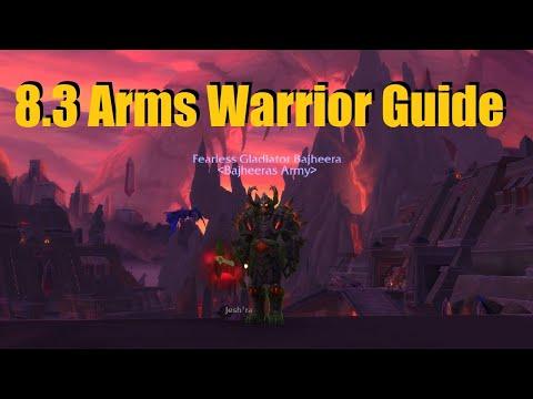 Bajheera - 8.3 Arms Warrior Guide (PvE & PvP) - Gear, Talents & Essences