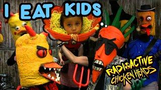 """I EAT KIDS"" Radioactive Chicken Heads music video"