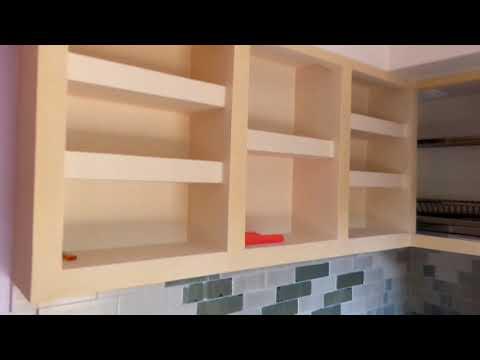 Кухня из гипсокартона своими руками фото кухня
