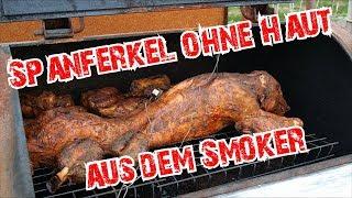 Spanferkel ohne Haut aus dem Smoker | Impressionen #wegrillnchill | Grill & Chill / BBQ & Lifestyle