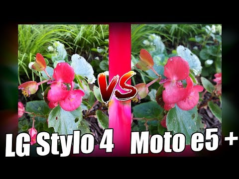 LG Stylo 4 Camera vs Moto E5 Plus