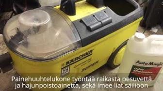 Auton penkkien pesu - ammattilaisen silmin