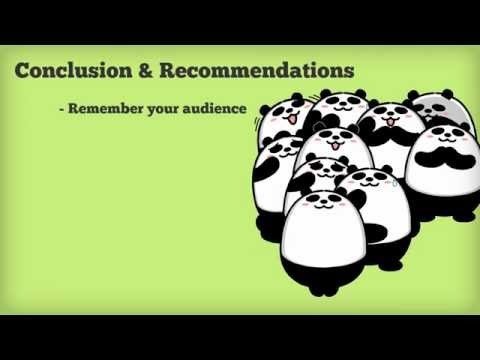 Workplace report: conclusion and recommendations