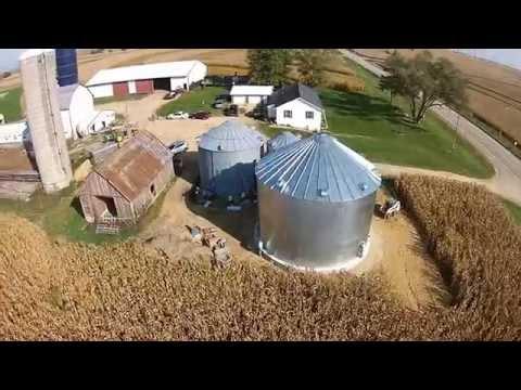 20,000 Bushel Grain Bin COMPLETED!