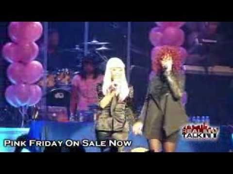 Nicki Minaj Feat Rihanna - Fly (Live) 2010