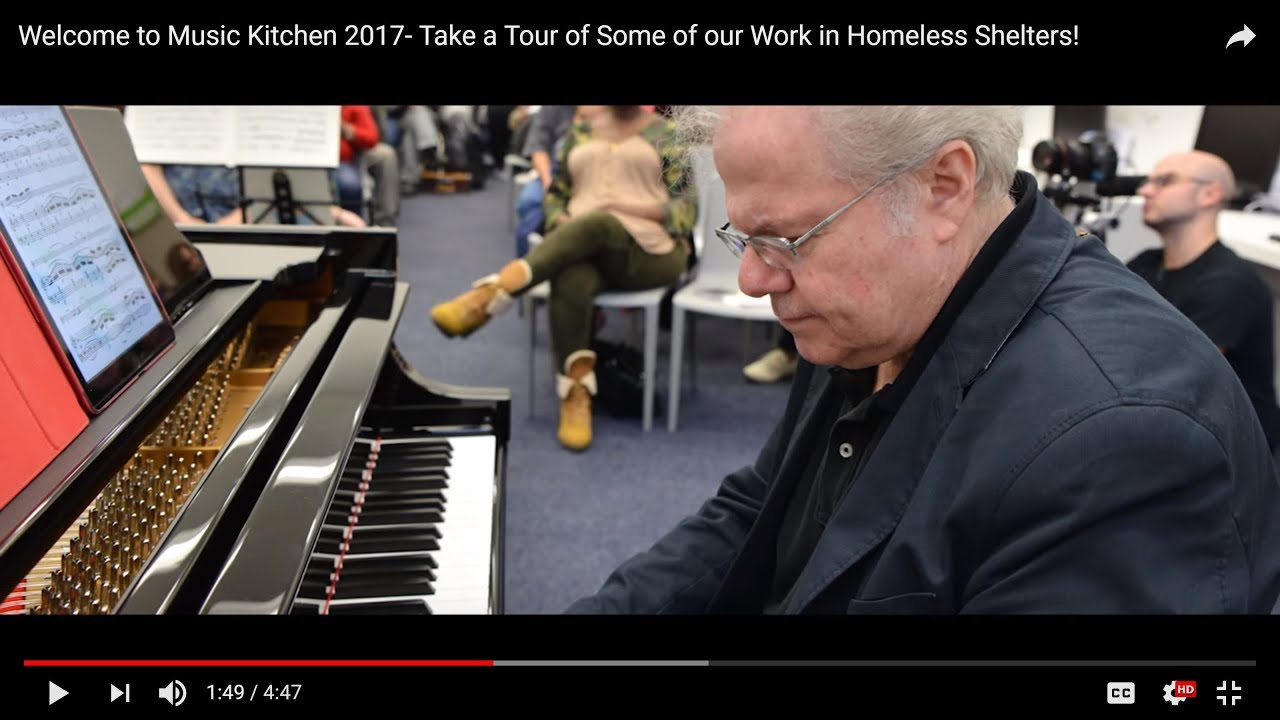 Welcome to Music Kitchen- Top Classical Music in Homeless Shelters ...
