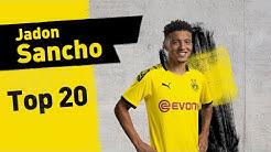 Top 20 Goals & Assists | Jadon Sancho