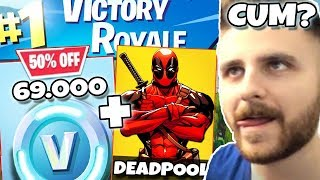 1V1 WITH IRAPHAHELL IN FORTNITE ON 69,000 VBUCKS + NEW SKIN!