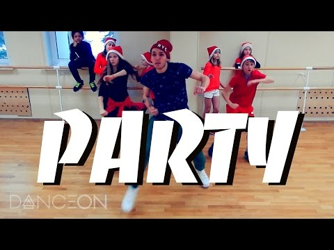 PARTY - Chris Brown, Usher, Gucci Mane Hip-Hop Dance   choreography by Andrew Heart #PartyChallenge