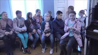 Первые уроки юного дворянина 22 школа 5а