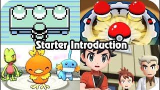 Evolution of Picking Your Starter Pokémon (1996 - 2018)