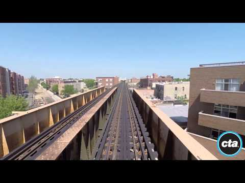 CTA Ride The Rails: Blue Line To O'Hare In Real Time