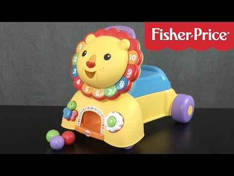 3-in-1 Sit, Stride, and Ride Lion from Fisher-Price