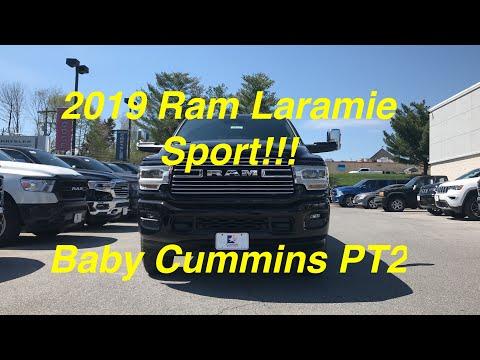 2019 RAM 2500 Laramie Sport - Baby Cummins Diesel Part 2