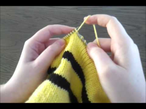 Hogwarts A House Scarf Knitting Youtube