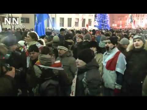Выборы - 2010. Разгон демонстрантов в Минске.