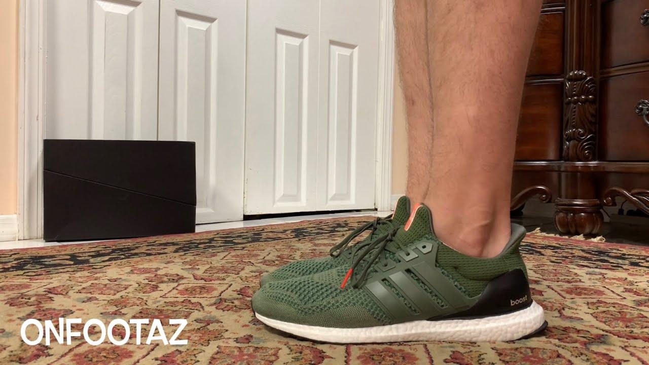 Adidas Ultra Boost 1.0 Olive Base Green 2020
