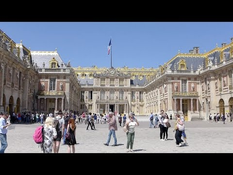 Versailles, France - Palace of Versailles & Gardens Full Tour (2018)
