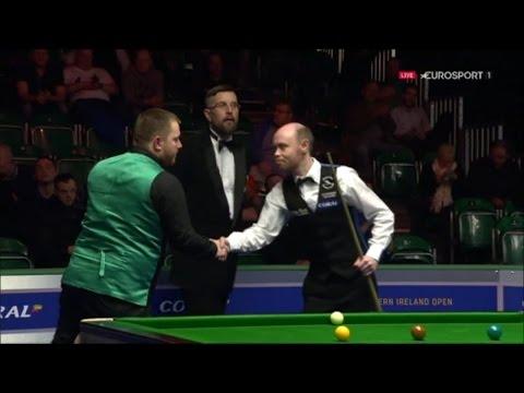 Billliards - Mark Allen v Gary Wilson Northern Ireland Open 2016
