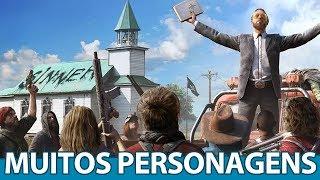 Far Cry 5 vai ter MUITOS personagens, Romário no PES e a volta de Theme Hospital