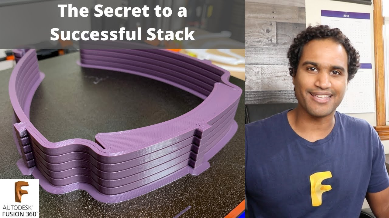 The Secret to 3D Printing a Successful Stack