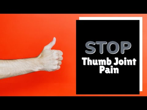 STOP Thumb Joint Pain with Simple Self Exercises