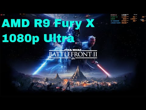Star Wars Battlefront II Multiplayer | AMD R9 Fury X | 1080p Ultra | i5-6600k