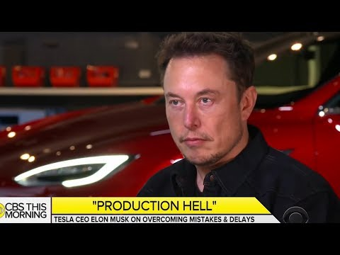 Elon Musk Finally Addresses Tesla's Problems