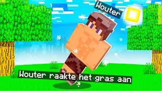 Minecraft, Maar Lopen Oṗ Gras Is Dodelijk!😅