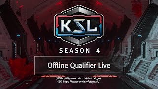 Offline Qualifiers - 2 of 4 - KSL Season 4 - StarCraft: Remastered