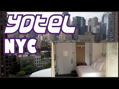 Travel Review: New York City Yotel Hotel