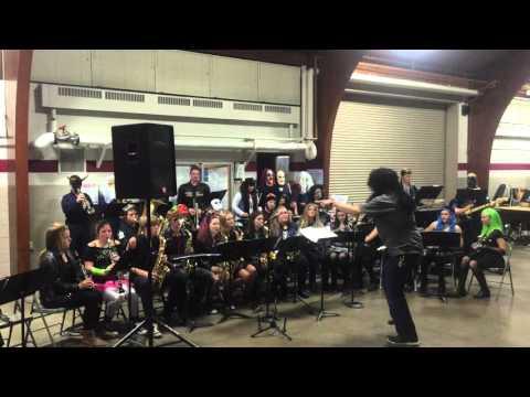 Elk Mound High School Jazz Band - Monster Bash - Birdland