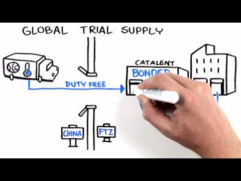 Global Advantage with Free Trade Zones in China | Catalent in 90 Seconds