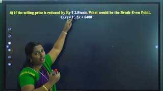 I PUC | BASIC MATHS | LINEAR FUNCTIONS  - 03