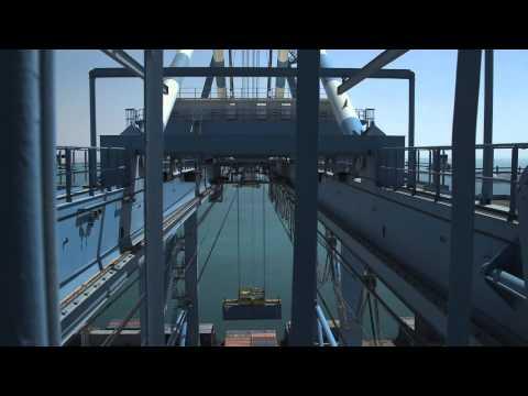 Port Khalifa - The Crane Operator