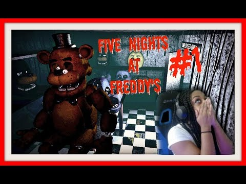 I HATE THESE THINGS!!!   FIVE NIGHTS AT FREDDY'S GAME PLAY NIGHT 1-3!!!