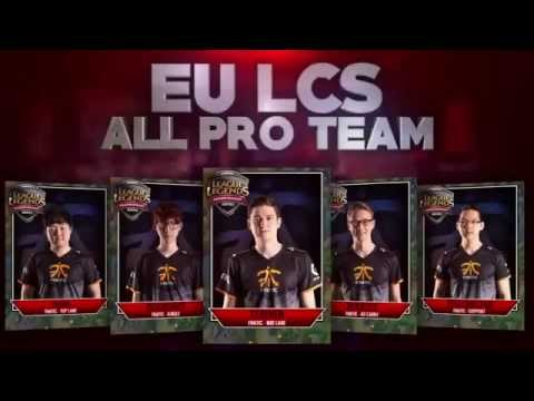 EU LCS ALL PRO TEAM - top 5 OP EU LCS Players of Summer 2015 as voted by fellow Players!