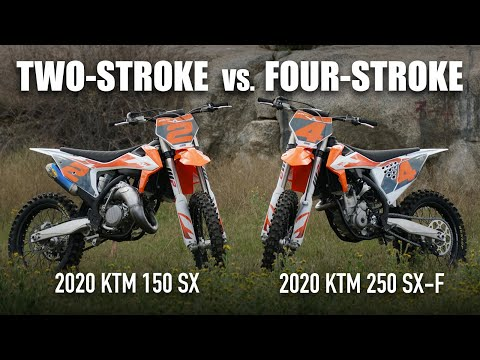 Two-Stroke vs. Four-Stroke: