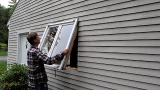 How to Replace an Old Window
