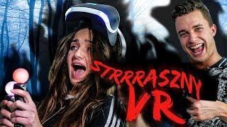 WYSTRASZYŁA SIĘ W PlayStation VR *śmiertelnie*