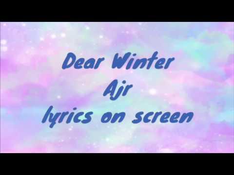 Dear Winter Ajr Lyrics On Screen Youtube Here's my clean edit for dear winter by ajr. dear winter ajr lyrics on screen