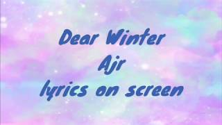 Dear Winter Ajr Lyrics On Screen Youtube Lyric video for dear winter 2.0 by ajr subscribe and press ( ) to join the notification squad and stay updated with new. dear winter ajr lyrics on screen